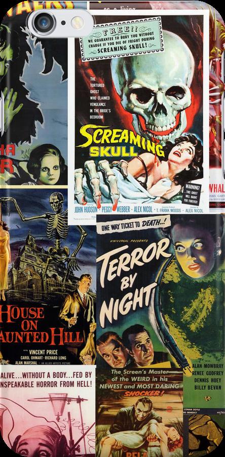 Monster Movie Posters by Jenn Kellar