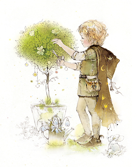 little gardener by Natasha Tabatchikova