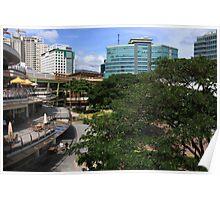 Cebu-Ayala View Poster