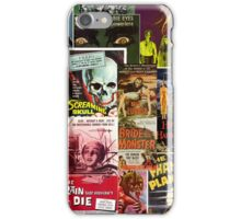 Monster Movie Posters 2 iPhone Case/Skin