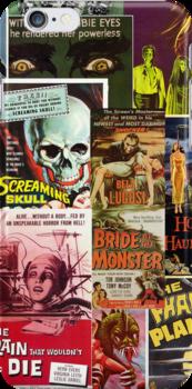Monster Movie Posters 2 by Jenn Kellar