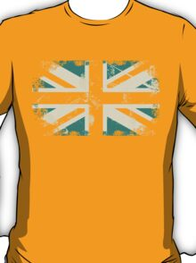 grungy UK flag T-Shirt