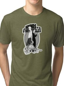 Bloody Bashers in grey Tri-blend T-Shirt