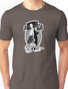 Bloody Bashers in grey Unisex T-Shirt