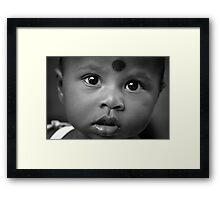 Third Eye Framed Print