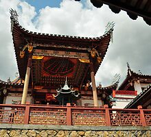 Temple of the Jade Emperor by S T