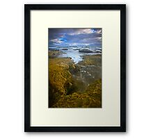 Raw Beauty of Bass Strait Framed Print