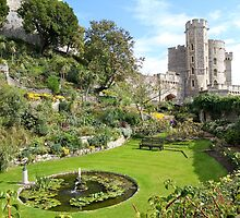Windsor Castle Garden by Llewellyn Cass