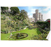 Windsor Castle Garden Poster