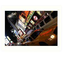 Times Square, New York Art Print