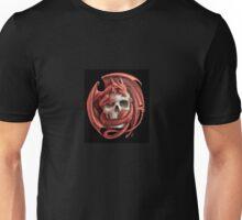 Dragon Skull Logo Unisex T-Shirt
