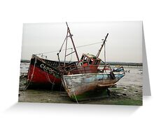 Growing old together - Maritime Greeting Card
