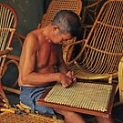 The Rattan Weaver by S T