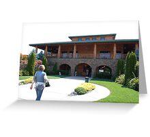 Napa Valley  Winery Greeting Card