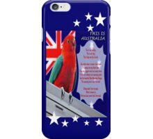 This Is Australia iPhone Case iPhone Case/Skin