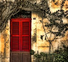 The Red Shutters by Stephen Morris