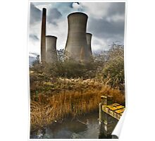 Richborough Power Station Poster