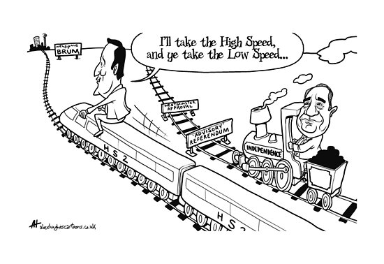 I'll Take the High Speed... by Alex Hughes