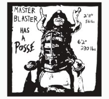 Master Blaster has a Posse Kids Clothes