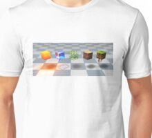 Minecraft block design Unisex T-Shirt