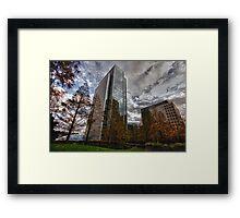 Tall Buildings Framed Print