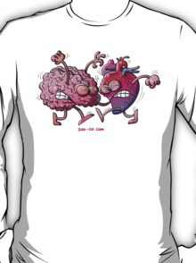 Heart vs Brain T-Shirt