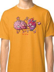 Heart vs Brain Classic T-Shirt