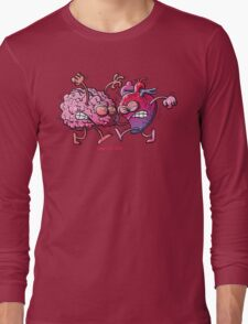 Heart vs Brain Long Sleeve T-Shirt