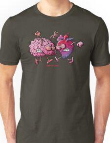 Heart vs Brain Unisex T-Shirt
