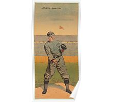 Benjamin K Edwards Collection William Abstein John A Butler Jersey City Team baseball card portrait Poster