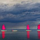 Voiles sous l&#x27;orage by cclaude