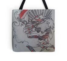 Demon Fox  Tote Bag