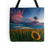 Skies Of A Summer Sunset Tote Bag