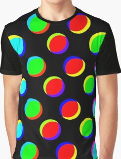 sd Colorful ILLusion Abstract 190J Graphic T-Shirt