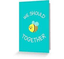 A bug's love life! Greeting Card