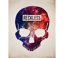 Reckless Skull Photographic Print