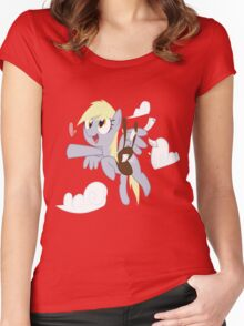 Derpy Love (derpy loves you) Women's Fitted Scoop T-Shirt
