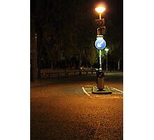 'Keep left' Photographic Print