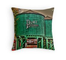 Welcome To Port Gamble Throw Pillow