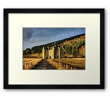 Clan Menzies Castle Framed Print