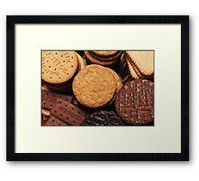 Fancy a biscuit? Framed Print