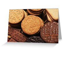 Fancy a biscuit? Greeting Card