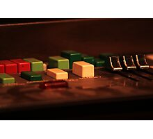 Electric organ Photographic Print