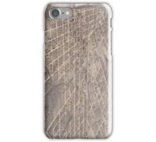Vintage Pictorial Map of Dallas Texas (1872) iPhone Case/Skin