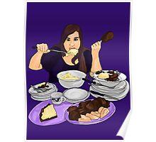 Violet Gluttony Poster
