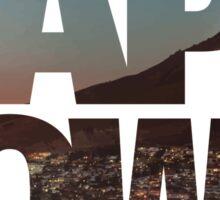 CAPE TOWN CITY – Typo Sticker