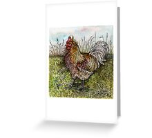 A Litttle Ruler of the Roost Greeting Card