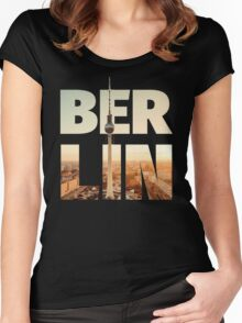 BERLIN CITY – Typo Women's Fitted Scoop T-Shirt