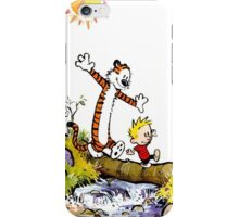 calvin and hobbes tree iPhone Case/Skin