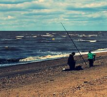 A Spot of Fishing by JHuntPhotos